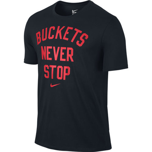 Nike buckets never stop 715194 010 basketball clothing for Basketball never stops shirt nike