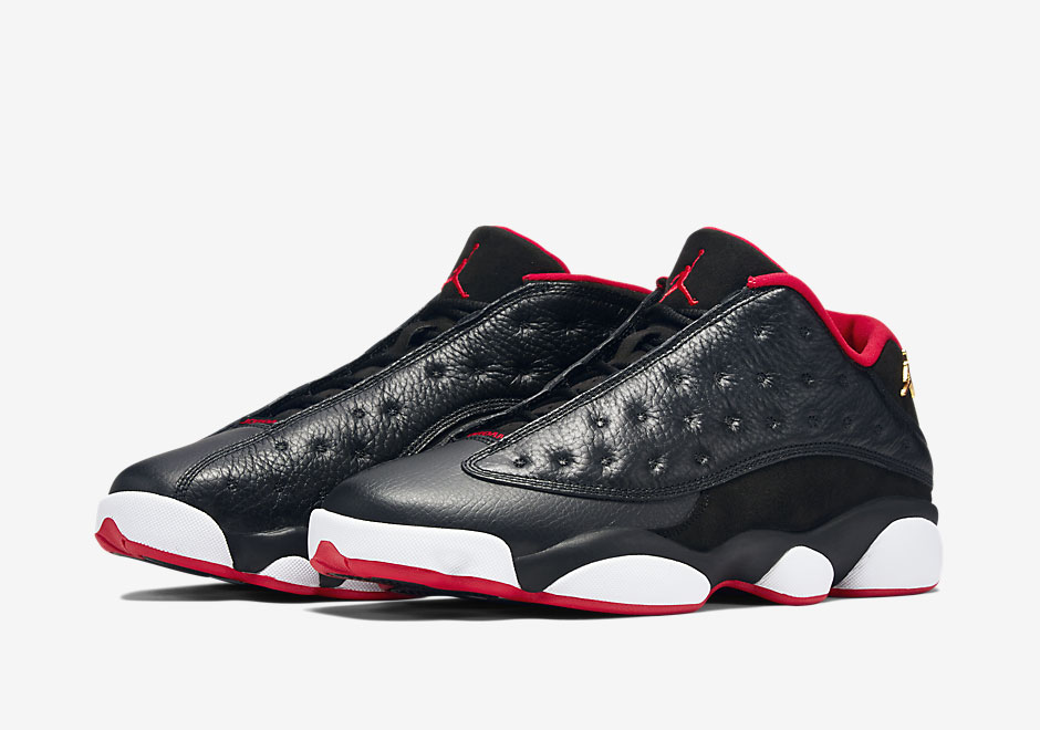 "Air Jordan 13 Low ""Bred""  - 310810-027"