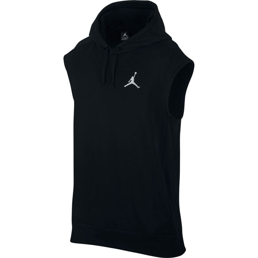 air jordan flight lite sleeveless hoodie 843110 010. Black Bedroom Furniture Sets. Home Design Ideas