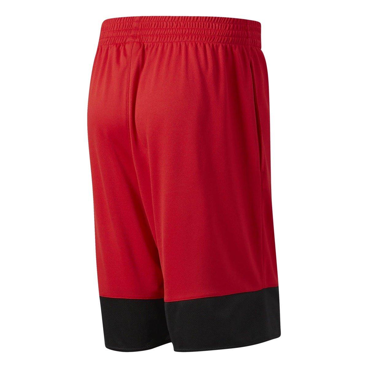 adidas houston rockets basketball shorts b45415 czerwony