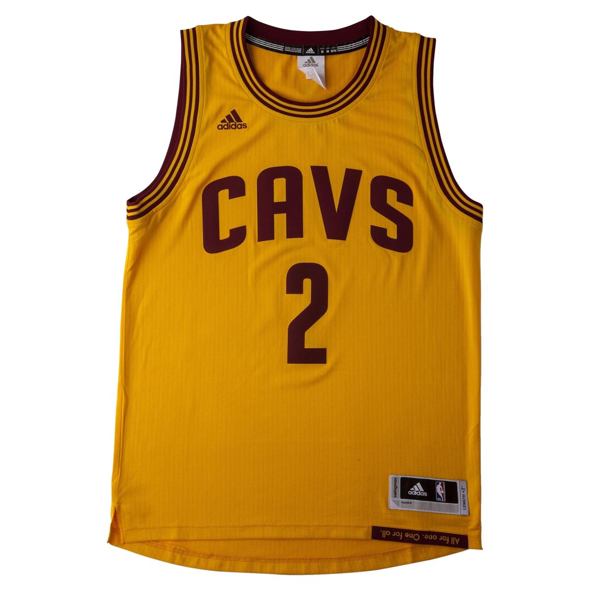 Adidas NBA Cleveland Cavaliers Swingman 2 Kyrie Irving Jersey - A45826 . a23b90134
