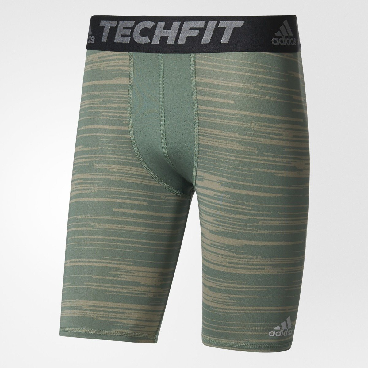 ... Adidas Techfit Base Graphic Short Tights Trace Green - BK3561 ...