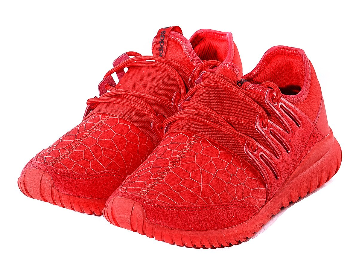 More Images Of The adidas Tubular X Primeknit Scarlet Red
