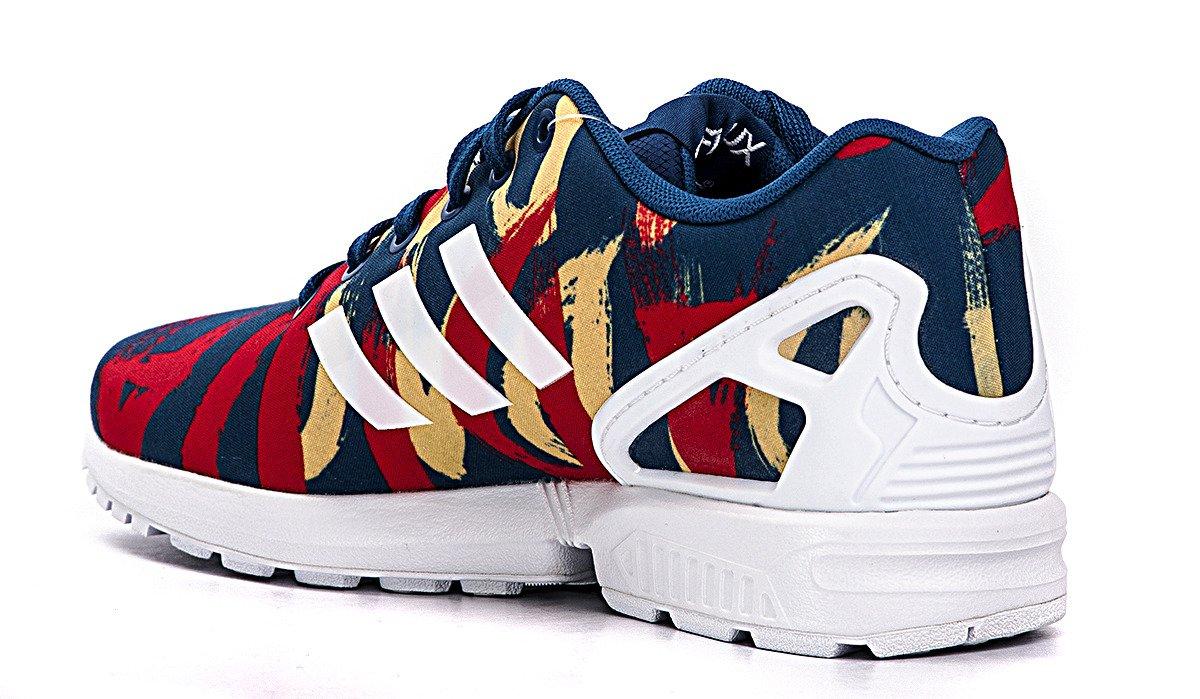 Elegant Home Womens Adidas ZX Flux Athletic Shoe