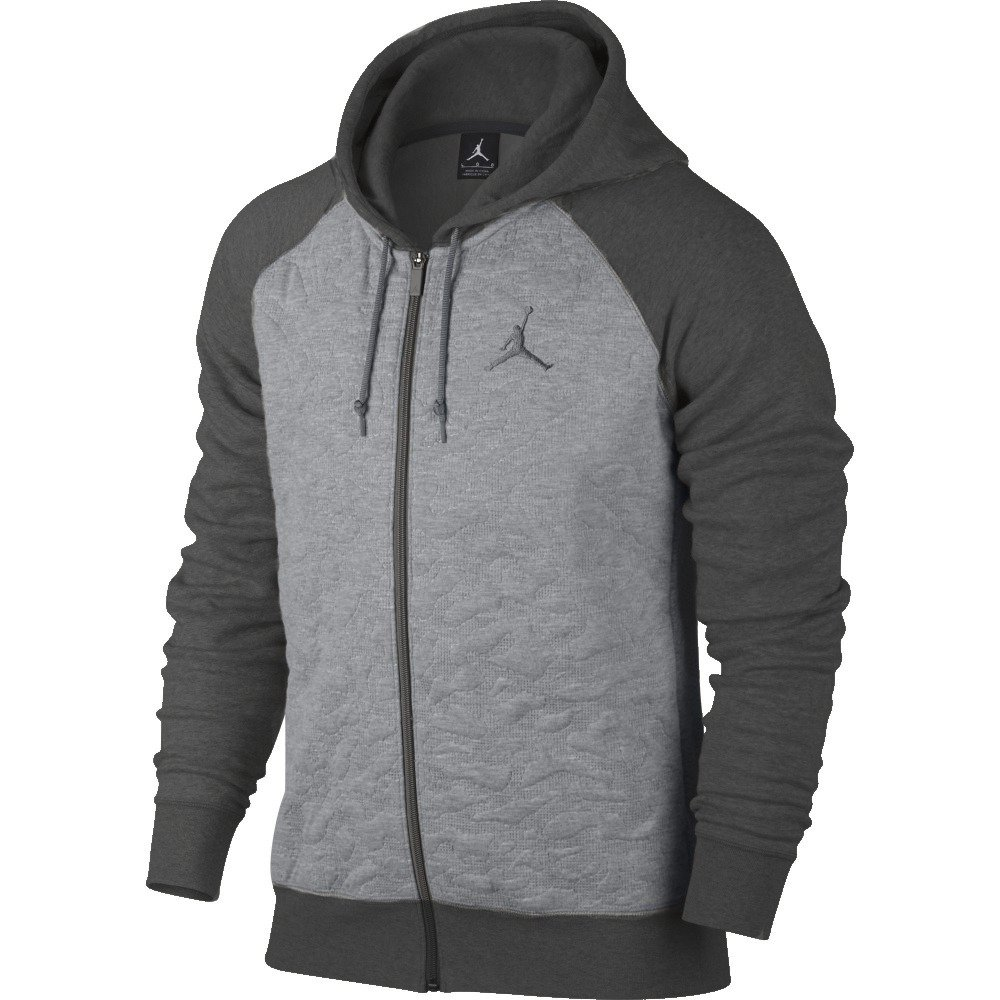 air jordan fleece full zip hoodie 819125 063. Black Bedroom Furniture Sets. Home Design Ideas