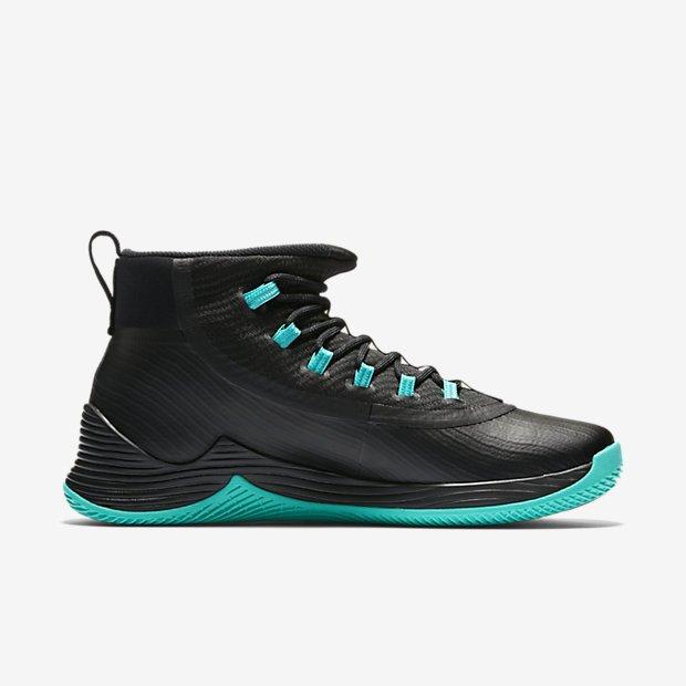 NIKE Jordan ULTRA. FLY 2 Scarpe Basket High Top Sneaker Black Jade 897998012