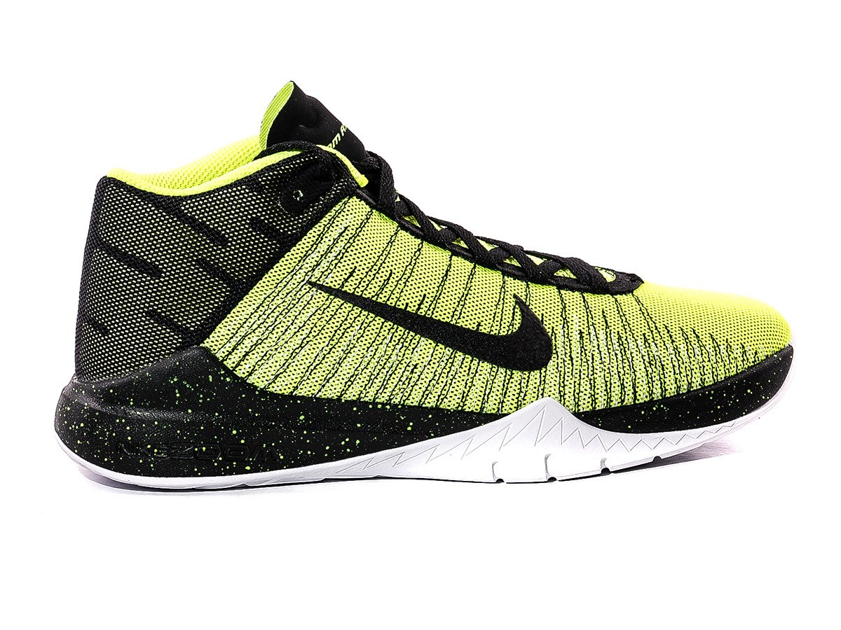 NIKE ZOOM ASCENTION GS Basketball Shoes- 834319-700 ...