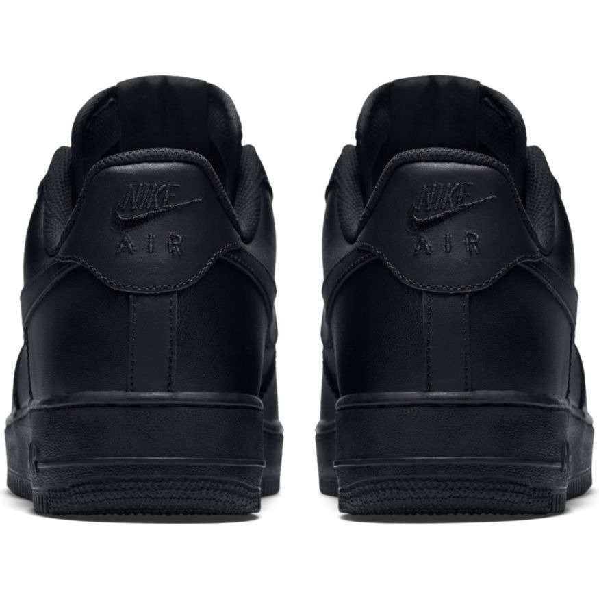 nike air 1 low all black shoes 315122 001