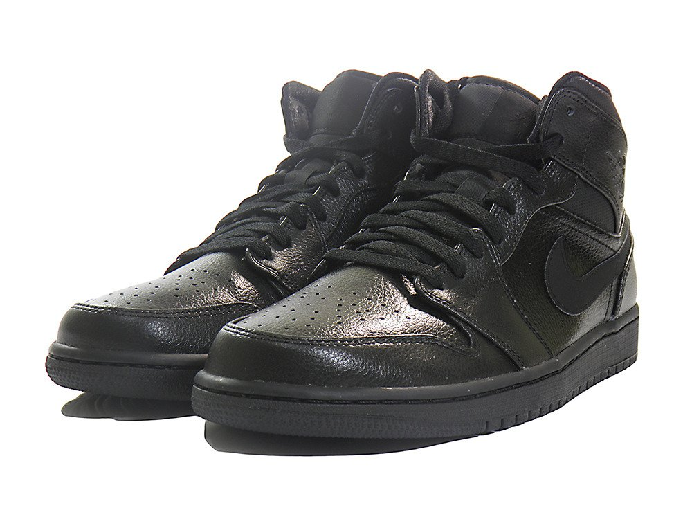 air jordan 1 mid black uk
