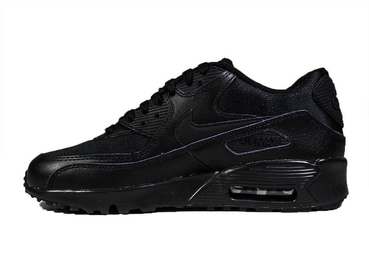 nike air max 90 mesh gs black shoes 833418 001 basketball shoes casual shoes sklep. Black Bedroom Furniture Sets. Home Design Ideas