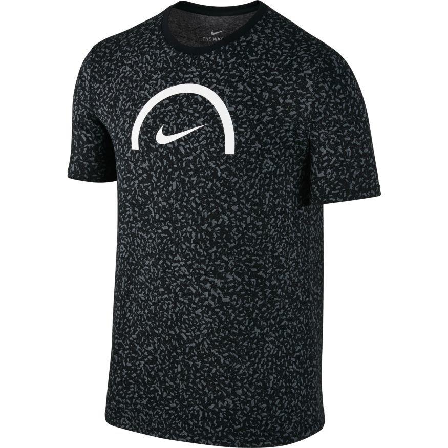 Nike dry basketball t shirt 844462 010 czarny for Nike custom t shirts
