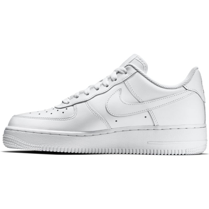 Nike Wmns Air Force 1 Low All White Shoes - 315115-112 ...