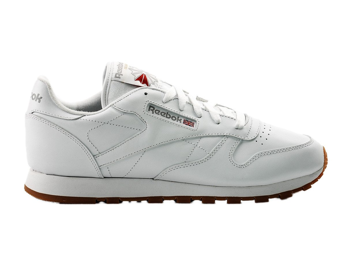 reebok classic leather shoes 49803 white gum