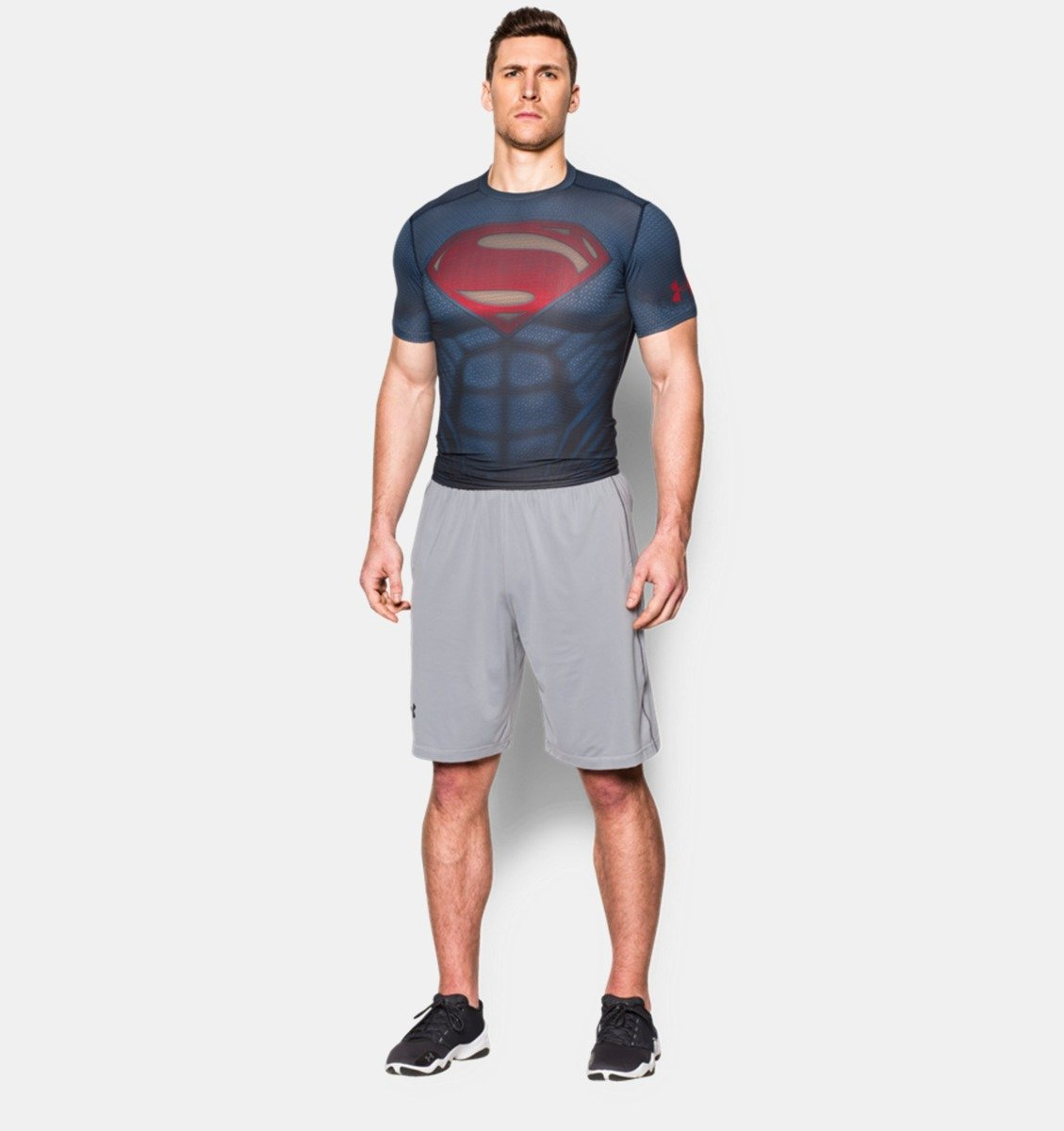 Under armour superman suit ss t shirt 1273689 410 for Cost to tailor a shirt