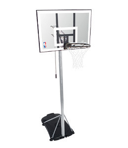 Spalding NBA Silver Portable Basketball hoop