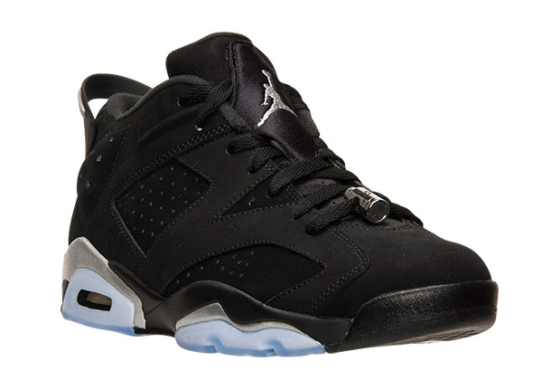 Air Jordan 6 Low Chrome - 304401-003