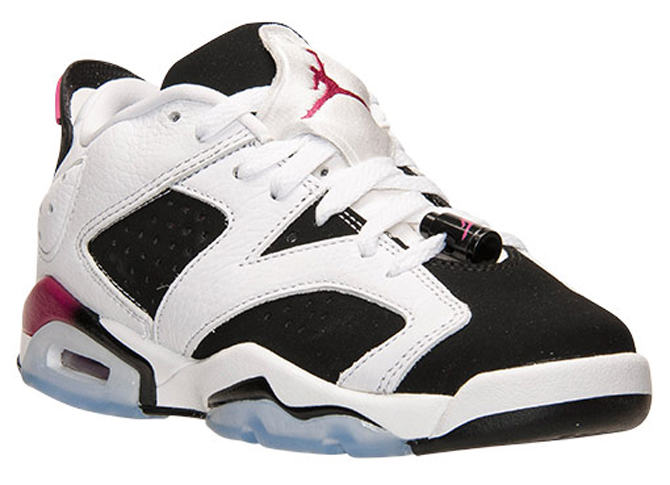 Air Jordan 6 Low GS Sport Fuchsia - 768878-107