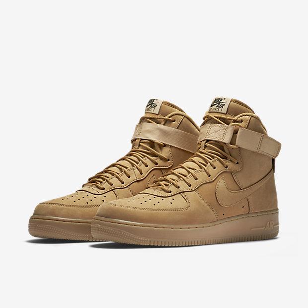 "wholesale dealer cabb3 6d3ea Nike Air Force 1 High 07 LV8 ""Wheat"" - 806403-200"