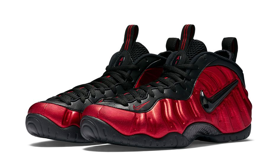 Nike Air Foamposite Pro University Red - 624041-604