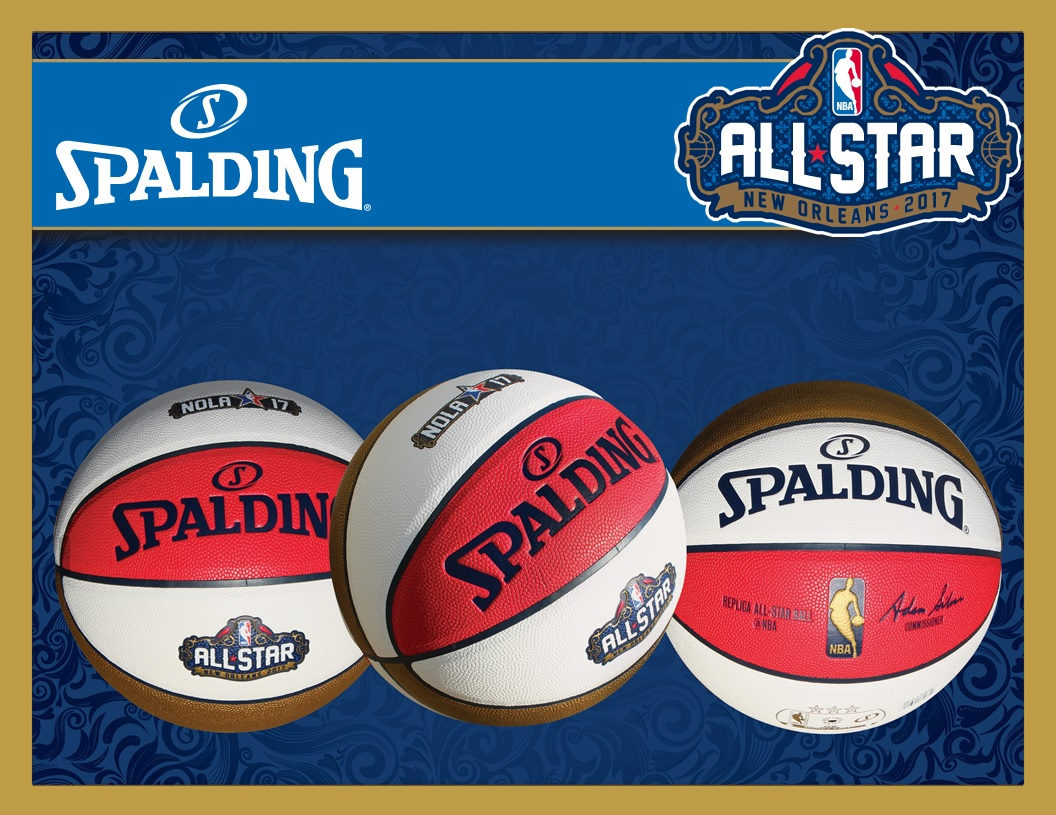 Spalding NBA All-Star Ball New Orleans 2017 Replica