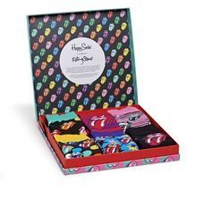 Giftbox Happy Socks x Rolling Stones 6-pak XRLS10-0100