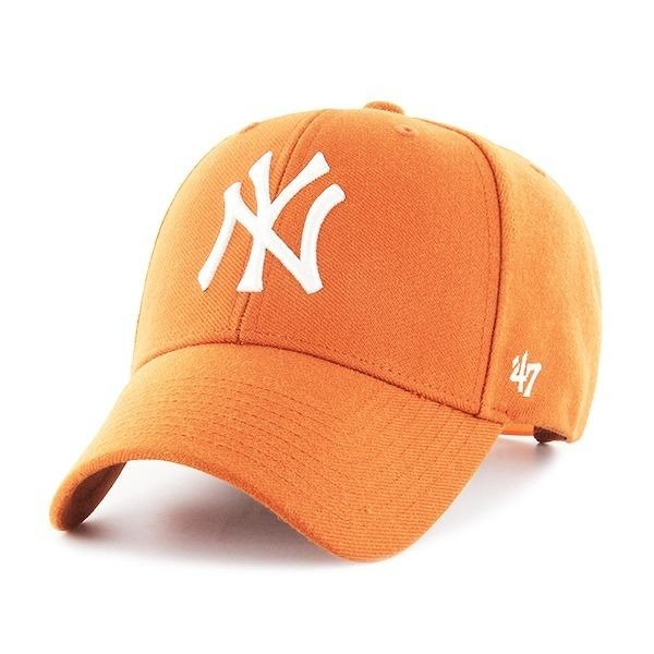 2674900c5 47 Brand MLB NY Yankees MVP Snapback - B-MVPSP17WBP-OR | Clothing ...