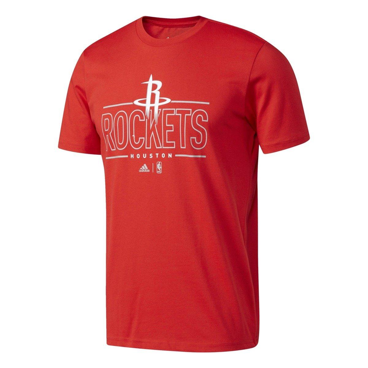 Adidas gfx 3 nba houston rockets t shirt s96788 for Nba basketball t shirts