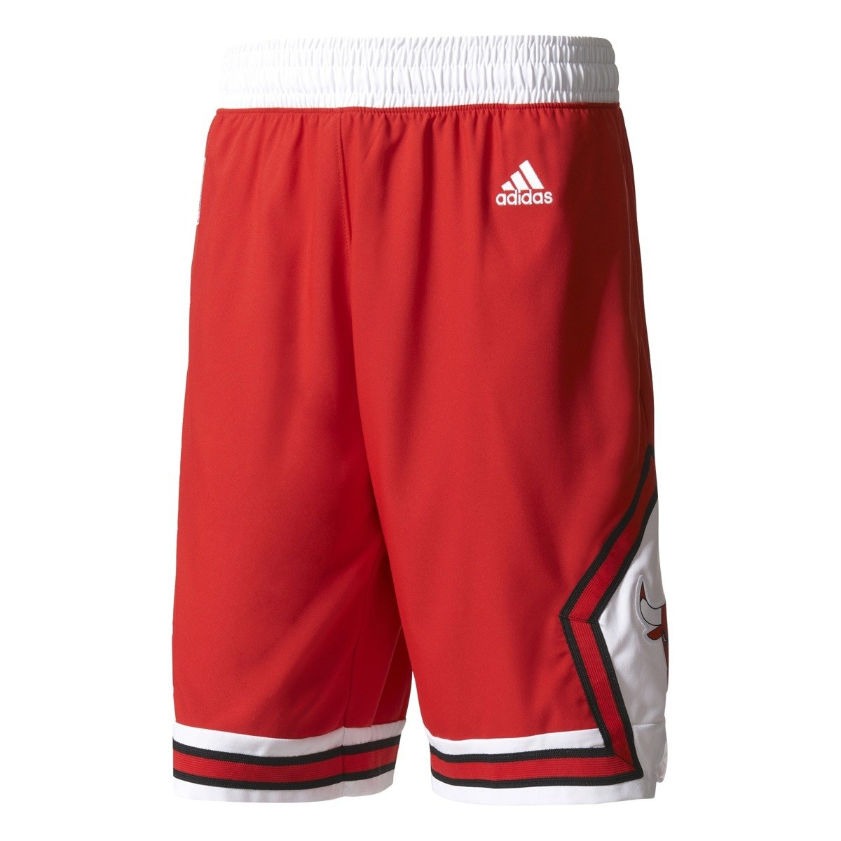 Adidas NBA Chicago Bulls Swingman Basketball Shorts - A20637 ... f953cac4144