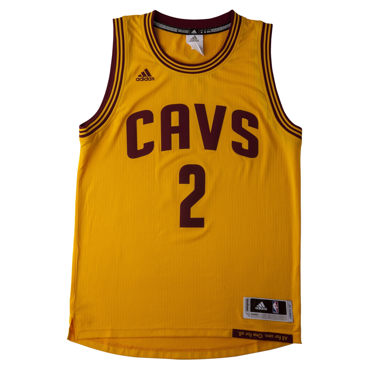 separation shoes c17d6 70148 Adidas NBA Cleveland Cavaliers Swingman 2 Kyrie Irving Jersey - A45826