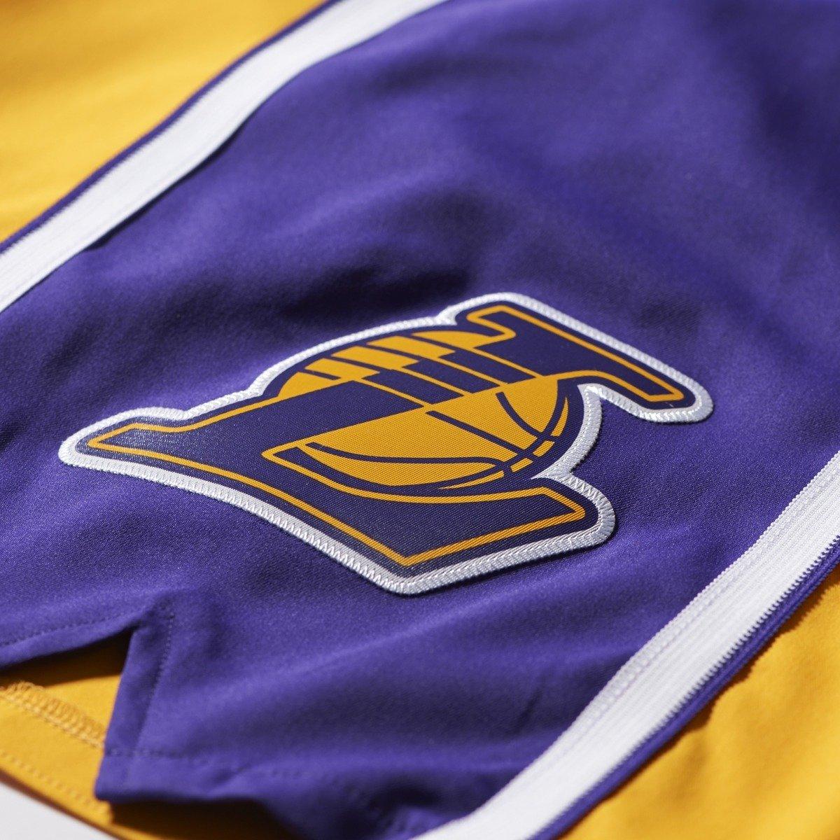 Nba Basketball Los Angeles Lakers: Adidas NBA Los Angeles Lakers Swingman Basketball Shorts