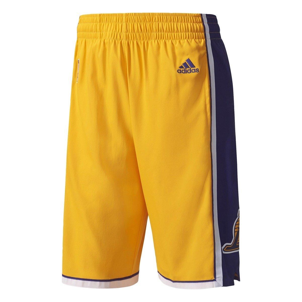 Adidas NBA Los Angeles Lakers Swingman Basketball Shorts - A20641 ... ac2027961e3d