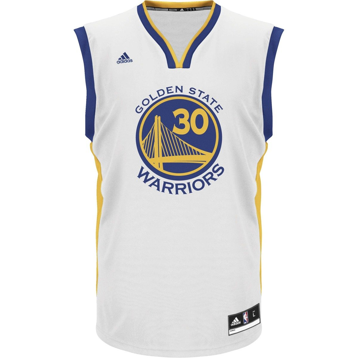 sports shoes 3eca2 5880d Adidas NBA Replica Golden State Warriors S.Curry Jersey - A21107