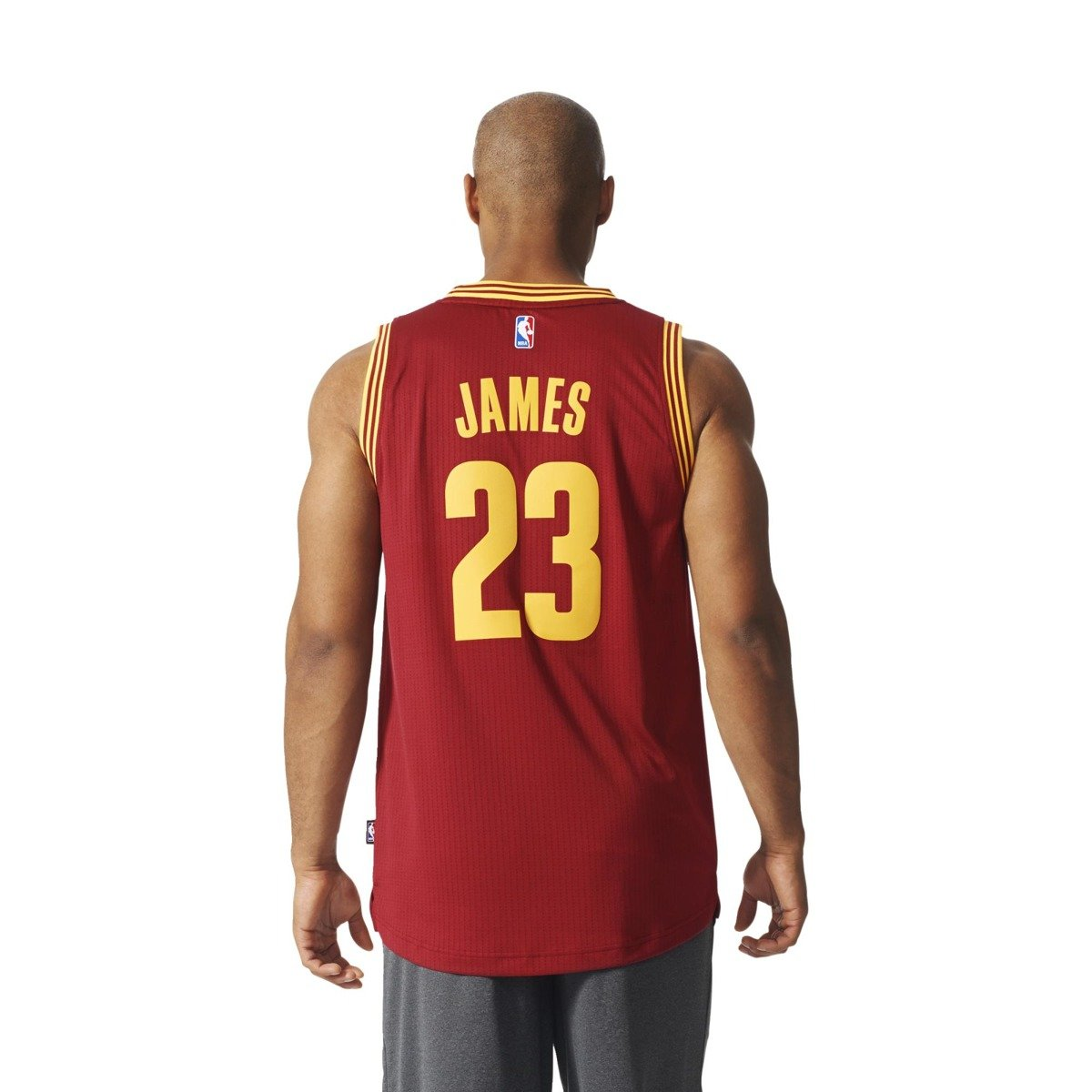 587b8e29ca3 ... Adidas NBA Swingman Cleveland Cavaliers LeBron James Jersey - A61199 ...