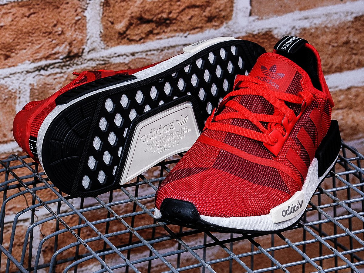 buy online 64519 dd187 ... adidas nmd r1 red geometric camo shoes s79164