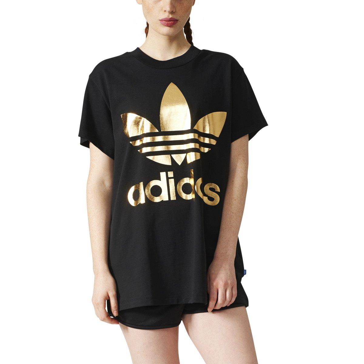 Adidas Originals Big Trefoil Women T Shirt Br9740