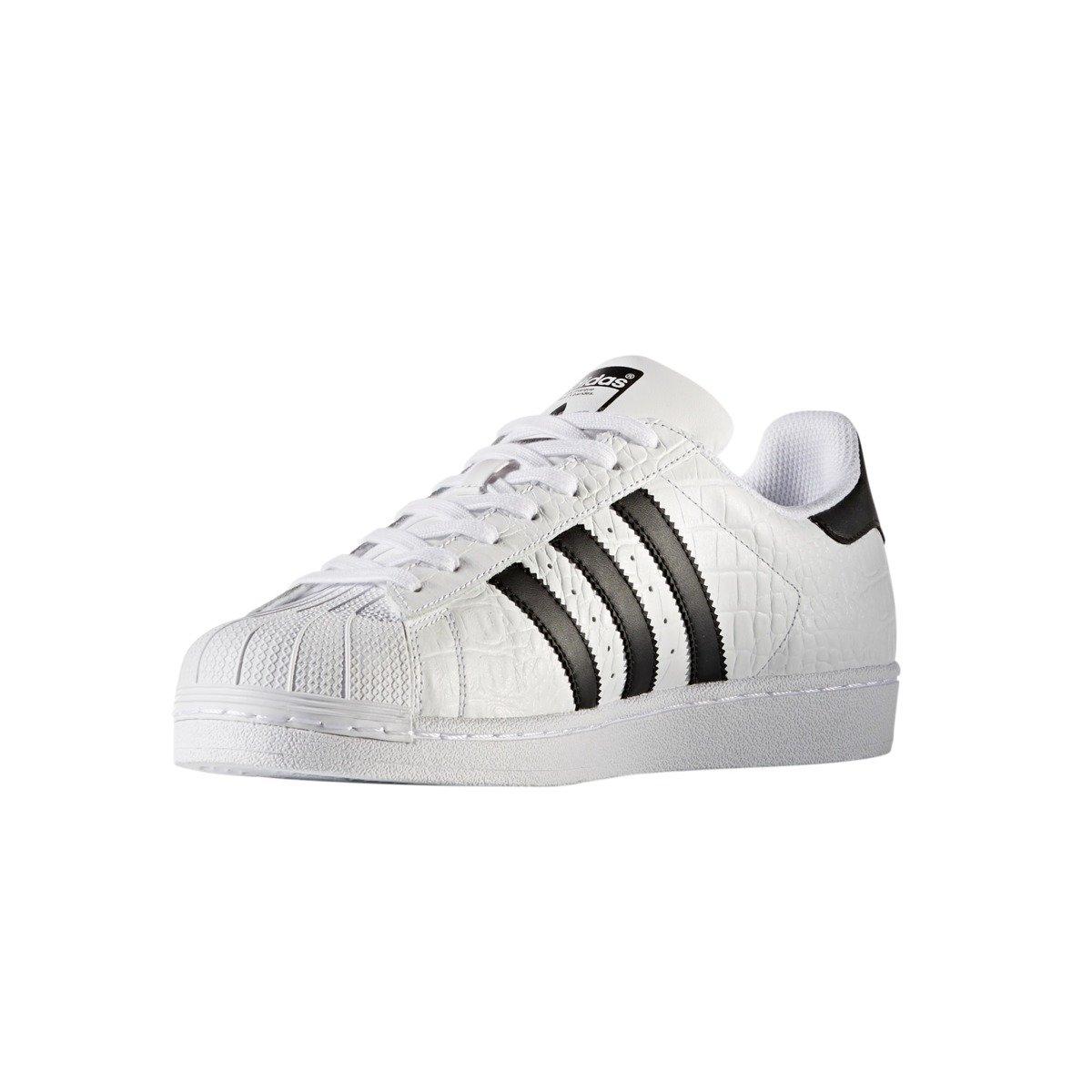 best sneakers 154eb 69c36 Adidas Originals Superstar Animal Print Shoes - BZ0198
