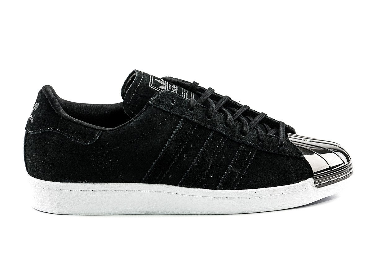 Offer Spring Autumn Adidas Superstar 80s Metal Toe black
