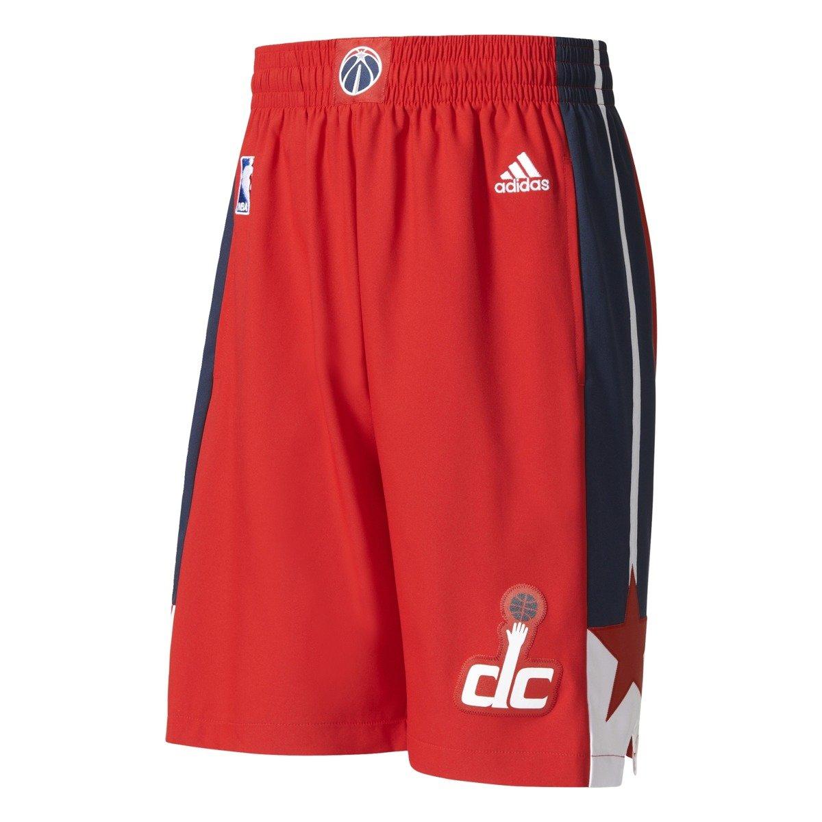 Adidas Washington Wizards NBA Swingman Basketball Shorts - A40867 ... 66d16ad3f08a