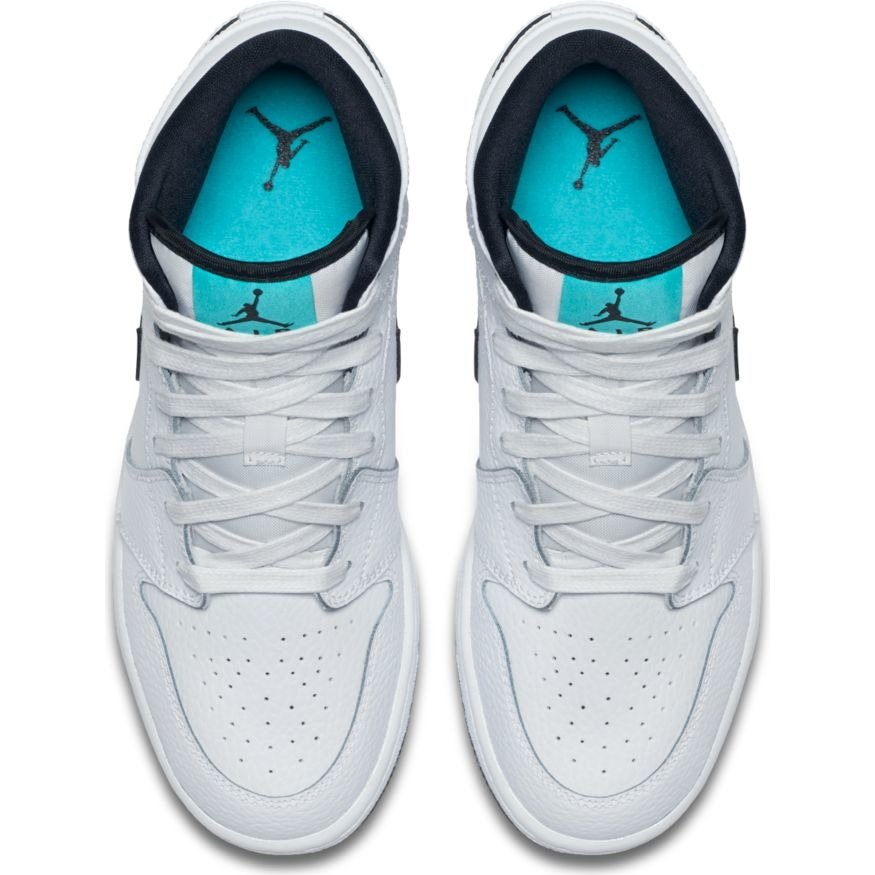 81c1837a86af ... Air Jordan 1 Mid GS Hyper Jade Shoes - 554725-122 ...