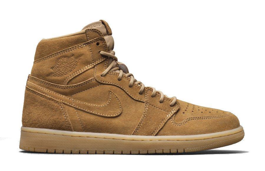 40de6119ec8 Air Jordan 1 Retro High OG Wheat Shoes - 555088-710 710 | Shoes ...