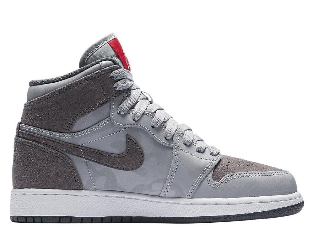 3682d0317a2fa Air Jordan 1 Retro High Premium Wolf Grey BG Shoes - 822858-027 Wolf ...
