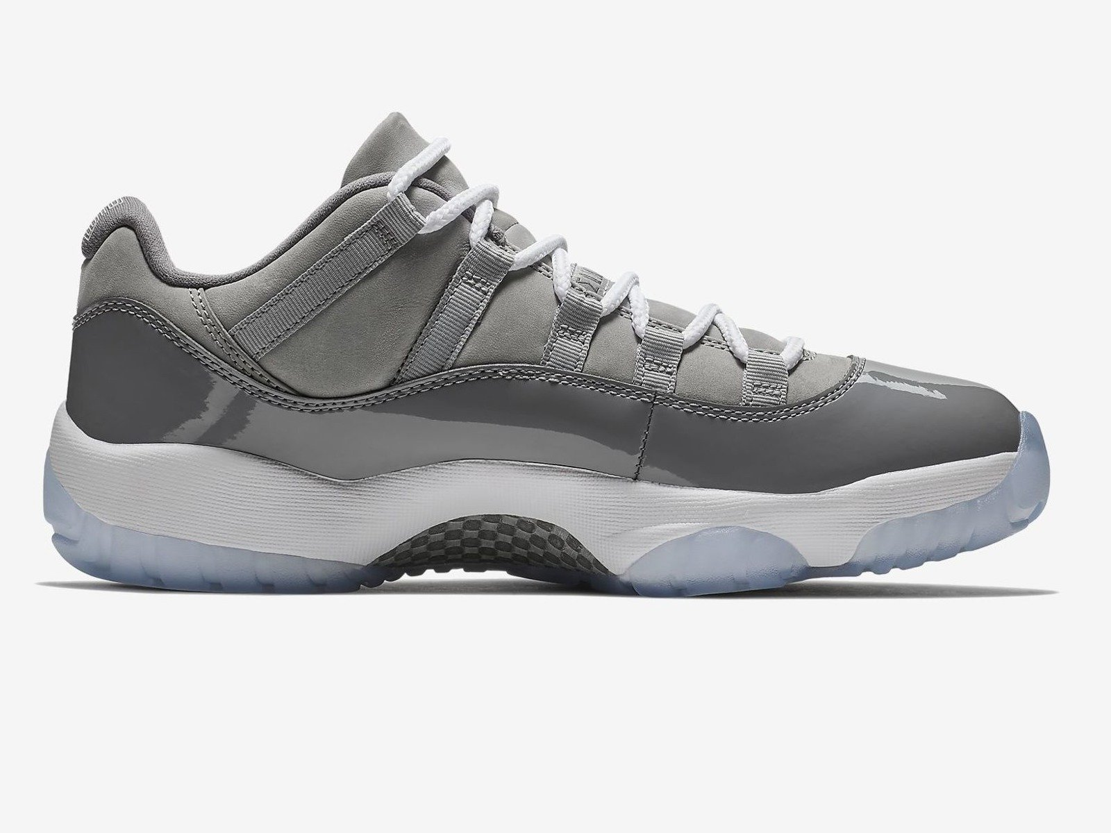 8e092a341ecb4 Air Jordan 11 Retro Low Cool Grey - 528895-003