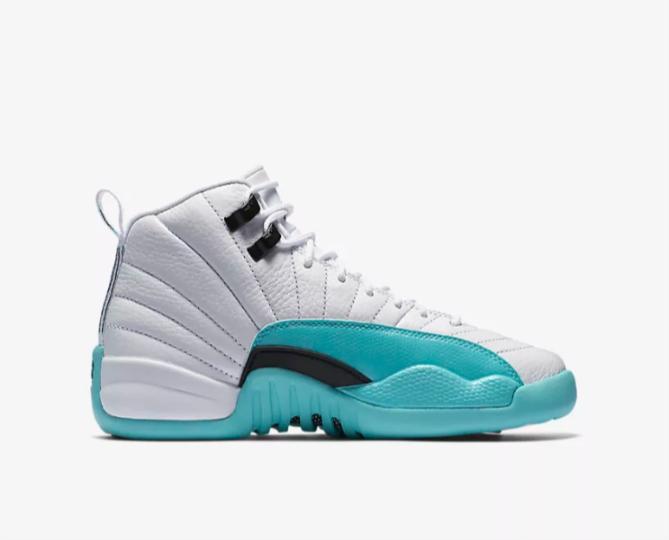 01b1c9b9640 Air Jordan 12 Retro GG Light Aqua Shoes - 510815-100 | Shoes \ Casual Shoes  | Sklep koszykarski Basketo.pl