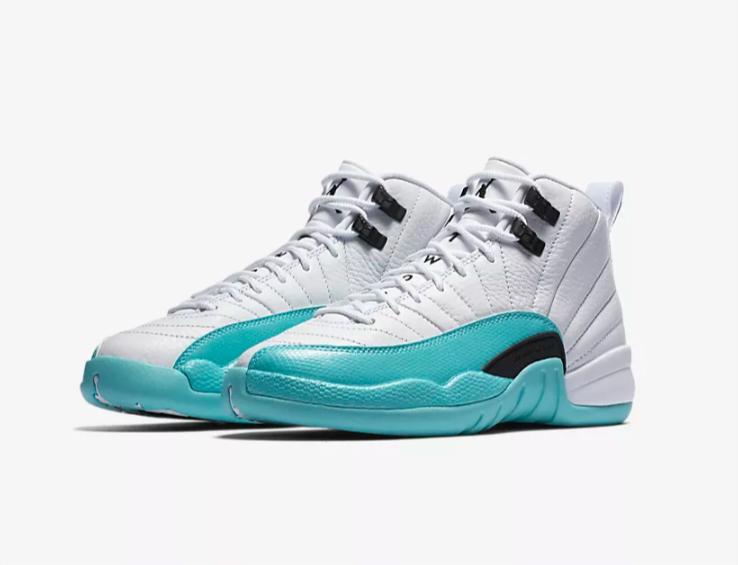 582abb9b4fc Air Jordan 12 Retro GG Light Aqua Shoes - 510815-100 | Shoes ...