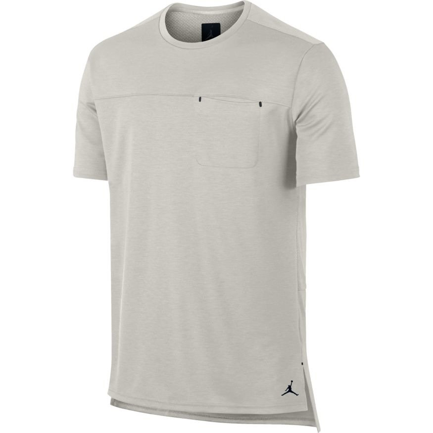 5cf6614bc910 Air Jordan 23 Lux Pocket T- shirt - 843082-072 Light Bone Light Bone ...