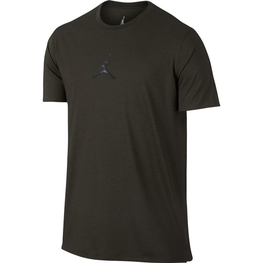 Air jordan 23 tech dri fit t shirt 833786 355 sequoia for Dri fit dress shirts