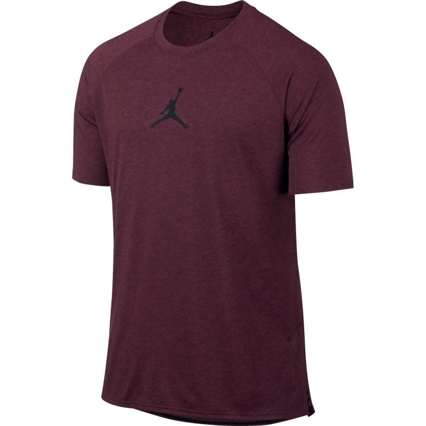 ff5b528ead9012 Air Jordan 23 Tech Training T-Shirt - 833784-642 Wiśniowy