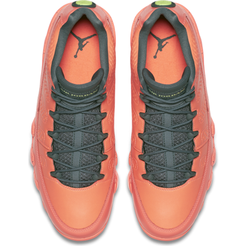 wholesale dealer ac4a8 46352 Air Jordan 9 Retro Low Bright Mango Shoes - 832822-805