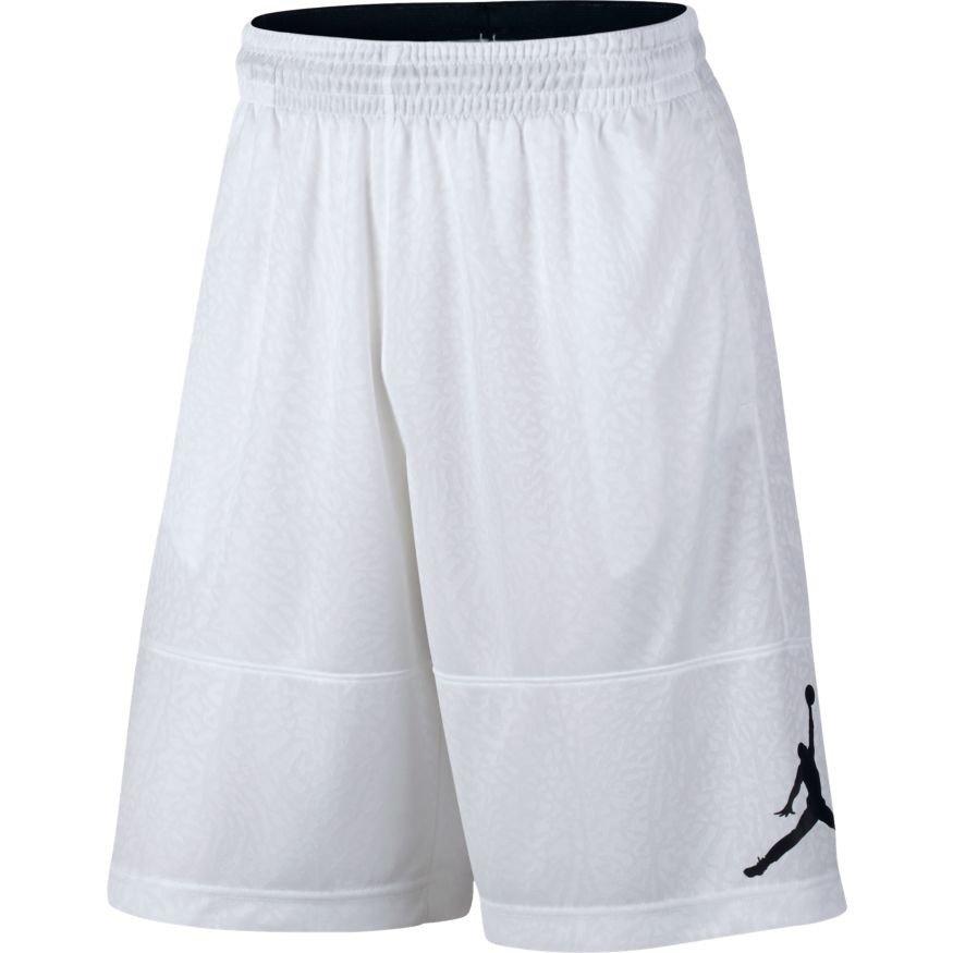 1e277434bd01ba Air Jordan Elephant Print Blockout Dri-FIT Shorts - 831372-100 White ...
