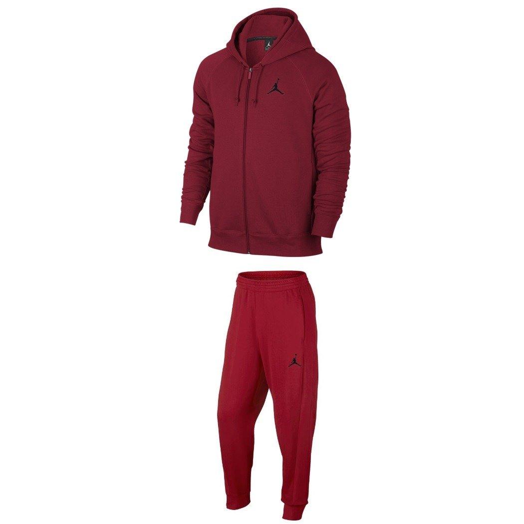 5375cc112456 ... Air Jordan Flight Tracksuit Gym Red ...